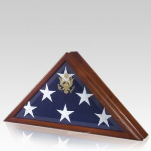 There are many flag case styles, but the most popular showcase the American flag
