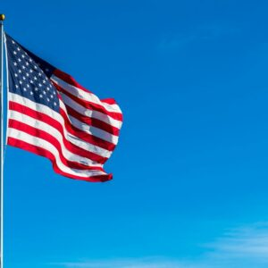 The simple beauty of the flag represents the simple beauty of America