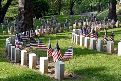 Purchasing a casket for a military member or veteran can be simple if you know your options
