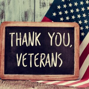 Veteran's Day celebrates the history of our Veterans, and their contribution to our lives