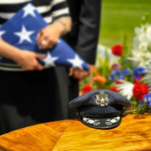 There are many traditions surrounding funerals for veterans